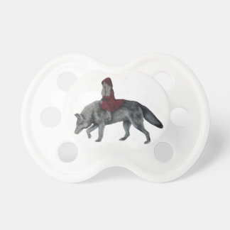 Rode berijdende kap spenen