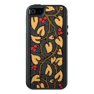 Rode Bessen en Bladeren op de Wijnstok OtterBox iPhone 5/5s/SE Hoesje