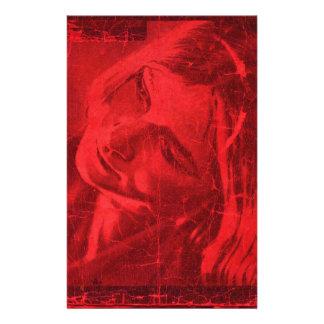 Rode Bezinningen Briefpapier