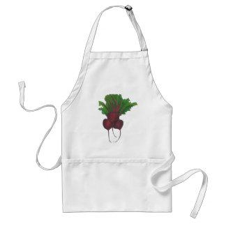 Rode biet Plantaardige Veggie Vegetarische Foodie Standaard Schort