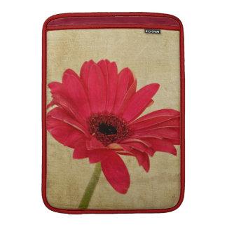 Rode Bloem Gerbera Sleeve For MacBook Air