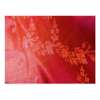 Rode Bloemen Briefkaart