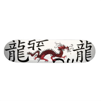 Rode Chinese Draak Skateboard Deck