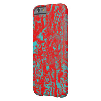 Rode Cowboy Iphone 6 hoesje Barely There iPhone 6 Hoesje