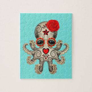 Rode Dag van de Dode Octopus van het Baby Puzzel
