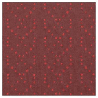Rode de strepenstof van de stipvlecht stof