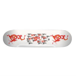 Rode Draak/Chinees Nieuwjaar Skate Deck