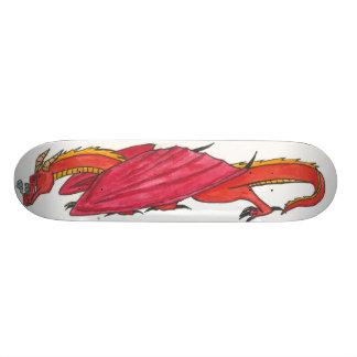 Rode Draak Skate Decks