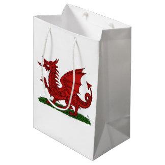 Rode Draak van Wales Medium Cadeauzakje