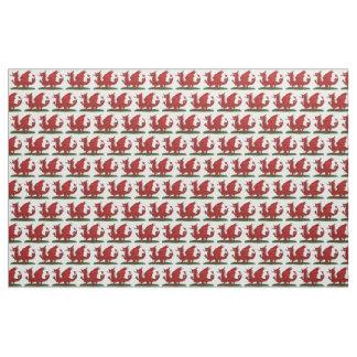 Rode Draak van Wales Stof