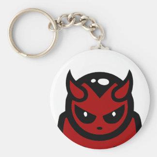 Rode Duivel Keychain Sleutelhanger