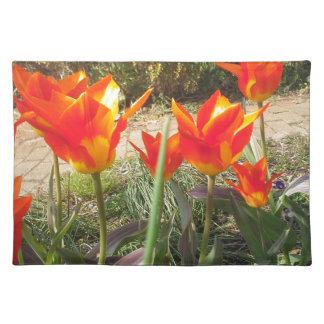 Rode en Gele Tulpen Placemat