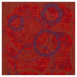 Rode en Paarse cirkelstof