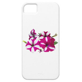 Rode en Witte Petunia vier Barely There iPhone 5 Hoesje