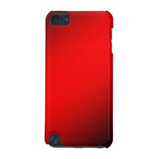 """Rode en Zwarte """"nauwelijks daar"""" Ipod Aanraking 5  iPod Touch 5G Hoesje"""