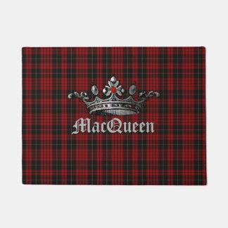 Rode en Zwarte Plaid MacQueen met de Mat van de
