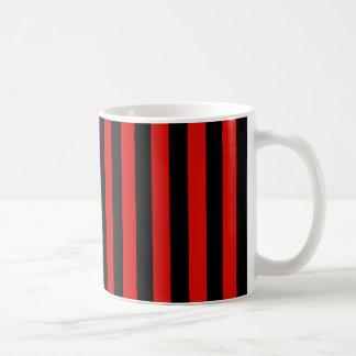 Rode en zwarte strepen, het voetbalteam van koffiemok