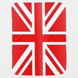 Rode Engelse Vlag Kinderwagen Dekentjes