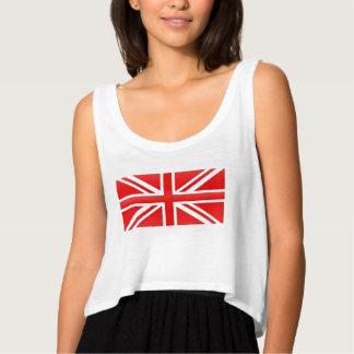 Rode Engelse Vlag Tanktop