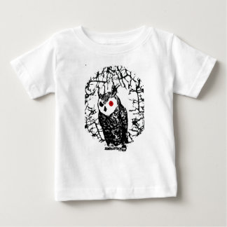 Rode Eyed Uil Baby T Shirts
