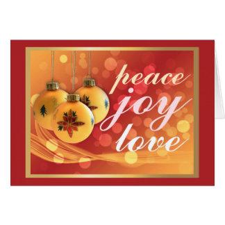 Rode Feestelijk van de Zegen van Kerstmis van de Wenskaart