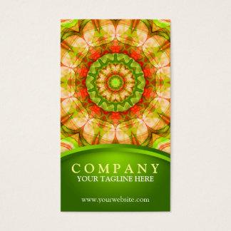 Rode Groene Appelen (120) Mandala Visitekaartjes