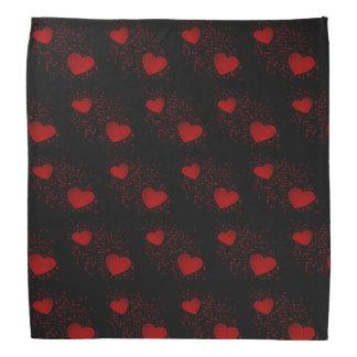 Rode Harten met Fonkelingen en Stip Bandana
