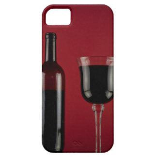 Rode het glasfles van de wijn barely there iPhone 5 hoesje