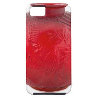 Rode het glasvaas van het Art deco met Tough iPhone 5 Hoesje