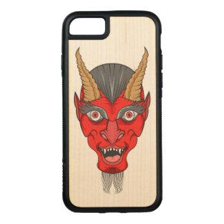 Rode Illustratie Devill Carved iPhone 8/7 Hoesje