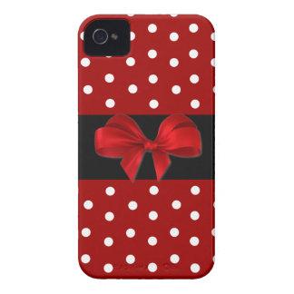 Rode iPhone 4 van de Stip Hoesje