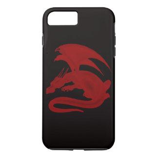 Rode iPhone 7 van Drakon Maionios van de Draak iPhone 8/7 Plus Hoesje