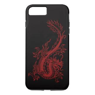 Rode iPhone 7 van Glaurung van de Draak Hoesje