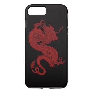 Rode iPhone 7 van Pendragon van de Draak Hoesje