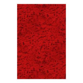Rode kijkt Cork van de Baksteen van de brand Aangepast Briefpapier