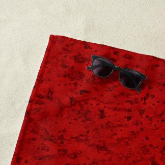 Rode kijkt Cork van de Baksteen van de brand Strandlaken