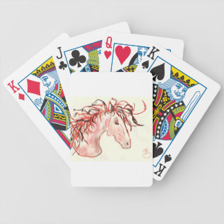 Rode Mustang Poker Kaarten