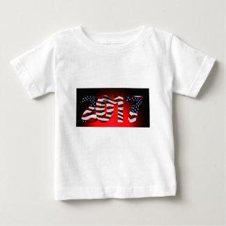 Rode nieuw-jaar-Dag Baby T Shirts