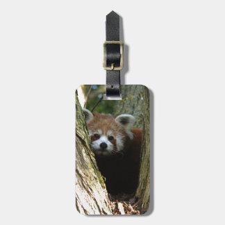 Rode panda bagagelabel