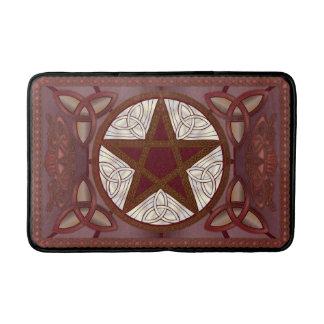 Rode Pentagram & Triquatras Badmatten