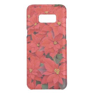 Rode Poinsettia I de BloemenFoto van de Vakantie Get Uncommon Samsung Galaxy S8 Plus Case