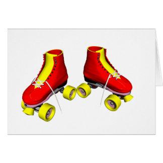 Rode Rolschaatsen Kaart