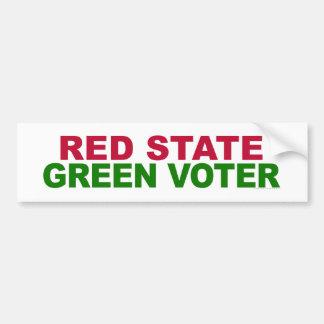 Rode Staat, Groene Kiezer Bumpersticker