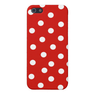 rode stip i telefoon 4 hoesje iPhone 5 cover