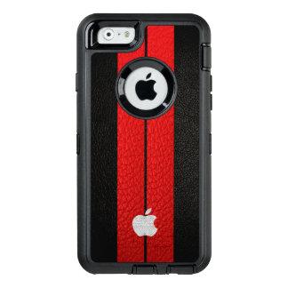 Rode Streep OtterBox Defender iPhone Hoesje