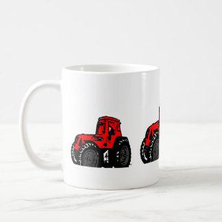 Rode Tractor Koffiemok