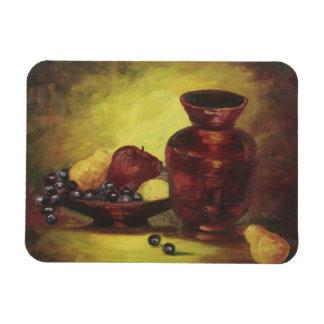 Rode Vaas met de Magneet van het Fruit