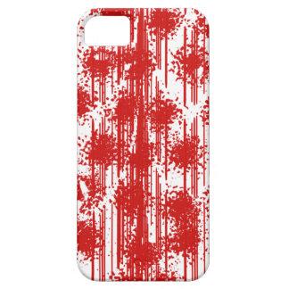 Rode Vers van het bloed Barely There iPhone 5 Hoesje
