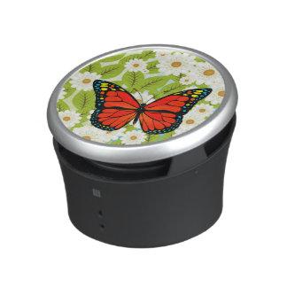 Rode vlinder bluetooth speaker