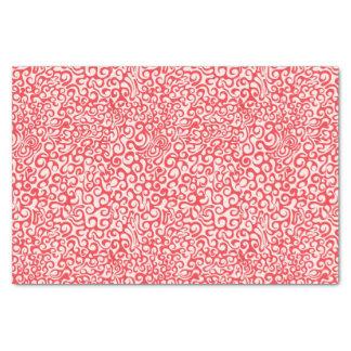 Rode Werveling 25,4 X 38,1 Cm Tissue Papier